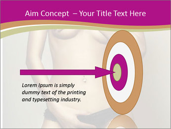 Attractive nude girl PowerPoint Templates - Slide 83