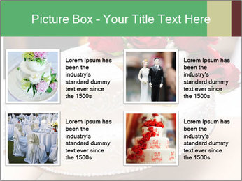 Wedding cake PowerPoint Templates - Slide 14