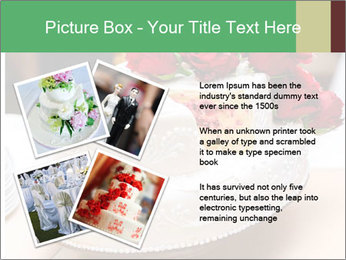 Wedding cake PowerPoint Templates - Slide 23