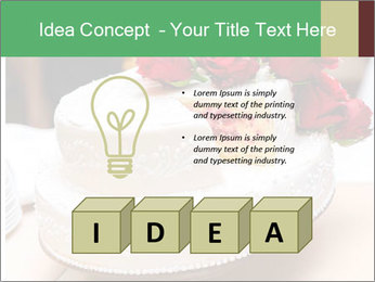 Wedding cake PowerPoint Template - Slide 80