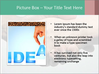 Hand Shake PowerPoint Template - Slide 13