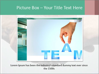 Hand Shake PowerPoint Template - Slide 15