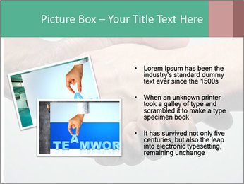 Hand Shake PowerPoint Template - Slide 20