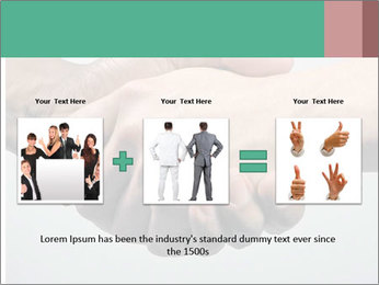 Hand Shake PowerPoint Template - Slide 22