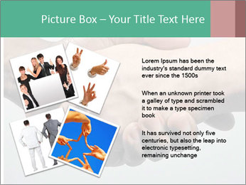 Hand Shake PowerPoint Template - Slide 23