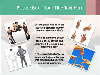 Hand Shake PowerPoint Template - Slide 24