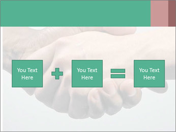 Hand Shake PowerPoint Template - Slide 95