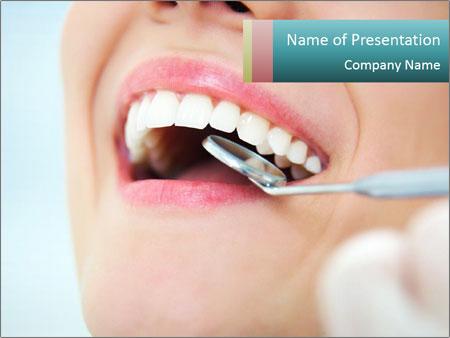Teeth dental care PowerPoint Template