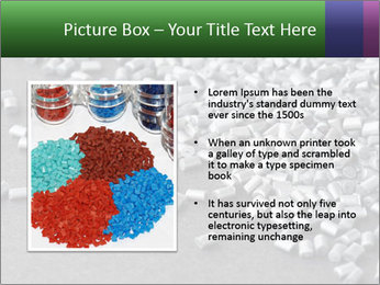 Silver metallic polymer PowerPoint Template - Slide 13