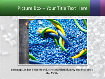 Silver metallic polymer PowerPoint Template - Slide 16