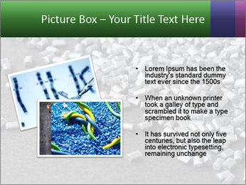 Silver metallic polymer PowerPoint Template - Slide 20