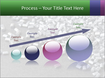 Silver metallic polymer PowerPoint Template - Slide 87
