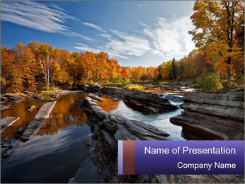 Amazing nature PowerPoint Template - Slide 1