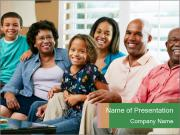 Multi Generation Family PowerPoint Templates