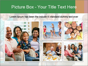 Multi Generation Family PowerPoint Template - Slide 19