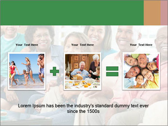 Multi Generation Family PowerPoint Template - Slide 22