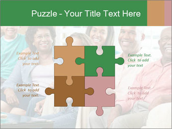 Multi Generation Family PowerPoint Template - Slide 43