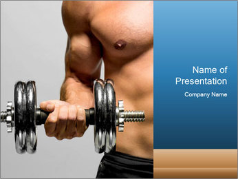 Fitness PowerPoint Templates - Slide 1