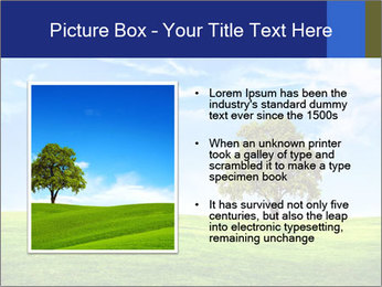 Tree and blue sky PowerPoint Template - Slide 13