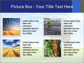 Tree and blue sky PowerPoint Template - Slide 14