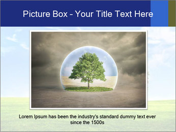 Tree and blue sky PowerPoint Templates - Slide 15