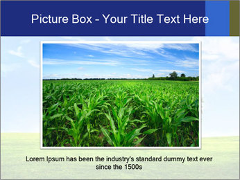 Tree and blue sky PowerPoint Template - Slide 16