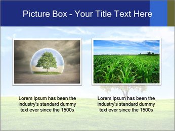 Tree and blue sky PowerPoint Template - Slide 18