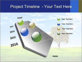 Tree and blue sky PowerPoint Template - Slide 26