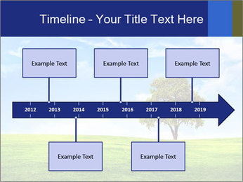 Tree and blue sky PowerPoint Template - Slide 28