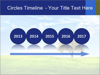 Tree and blue sky PowerPoint Template - Slide 29