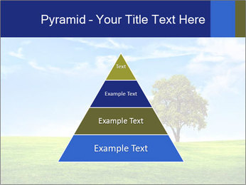 Tree and blue sky PowerPoint Template - Slide 30