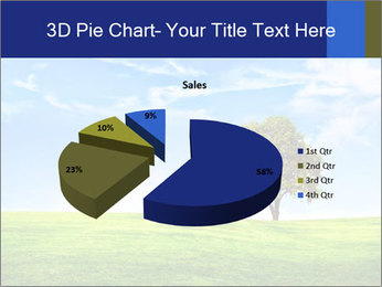 Tree and blue sky PowerPoint Template - Slide 35