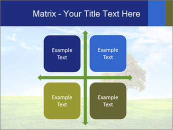 Tree and blue sky PowerPoint Template - Slide 37