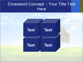 Tree and blue sky PowerPoint Template - Slide 39