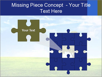 Tree and blue sky PowerPoint Template - Slide 45