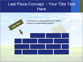 Tree and blue sky PowerPoint Template - Slide 46