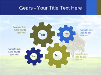 Tree and blue sky PowerPoint Templates - Slide 47