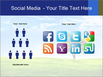 Tree and blue sky PowerPoint Template - Slide 5