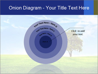 Tree and blue sky PowerPoint Templates - Slide 61