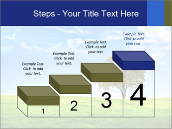 Tree and blue sky PowerPoint Templates - Slide 64