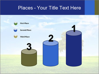 Tree and blue sky PowerPoint Template - Slide 65