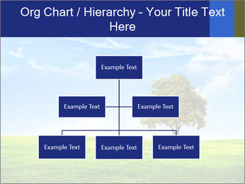 Tree and blue sky PowerPoint Template - Slide 66