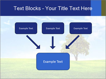 Tree and blue sky PowerPoint Template - Slide 70