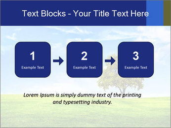 Tree and blue sky PowerPoint Template - Slide 71