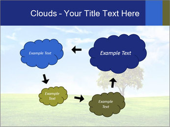 Tree and blue sky PowerPoint Template - Slide 72