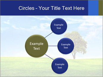 Tree and blue sky PowerPoint Template - Slide 79