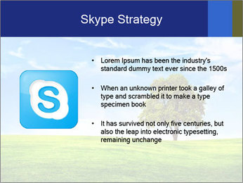 Tree and blue sky PowerPoint Template - Slide 8