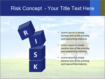Tree and blue sky PowerPoint Template - Slide 81