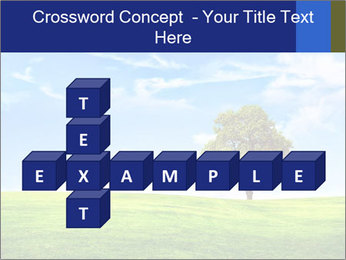 Tree and blue sky PowerPoint Template - Slide 82