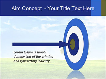Tree and blue sky PowerPoint Template - Slide 83